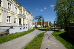 Escuela musical del estado en Gliwice, Polonia fotografía de archivo libre de regalías