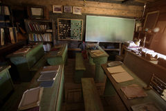 Escuela a partir del pasado Fotos de archivo libres de regalías