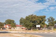 Escuela primaria de Vooruit en Otjiwarongo Fotografía de archivo