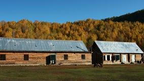Escuela primaria en aldea Imagenes de archivo