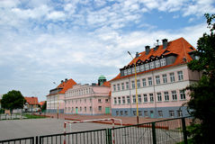 Escuela primaria en Polonia Imagen de archivo libre de regalías