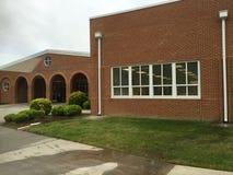 Escuela que enrolla abajo Fotos de archivo libres de regalías