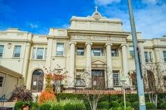 Escuela religiosa bendecida hollywood del sacramento en bulevar de la puesta del sol Imagen de archivo