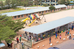Escuela ruandesa Imagenes de archivo