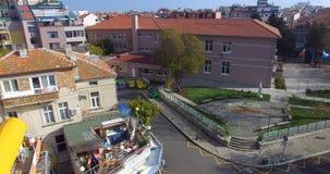 Escuela turística especializada en el Pomorie búlgaro Fotos de archivo libres de regalías