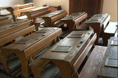Escuela vieja II Fotos de archivo