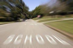 Escuelas hacia fuera Foto de archivo