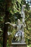 Esculpa Rusia en el parque de Grutas cerca de Druskininkai Imágenes de archivo libres de regalías