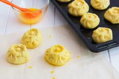 Esculpir o conceito do kurniki das tortas do russo Fotografia de Stock Royalty Free