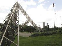 Escultura Abra Solar Alejandro Otero Plaza Venezuela de Venezuela Caracas imágenes de archivo libres de regalías