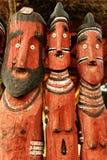 Escultura africana, totens fotos de stock