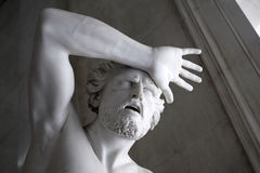 Escultura antiga fotografia de stock royalty free