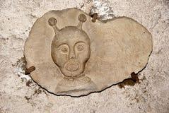 Escultura antigua Fotografía de archivo