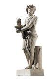 Escultura antigua de Dionysus foto de archivo libre de regalías