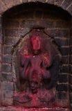 Escultura antigua de la diosa Fotografía de archivo libre de regalías