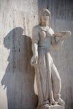 Escultura antigua Imagen de archivo libre de regalías