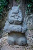 Escultura antropomórfica na pedra, parque do museu de Venta do La imagem de stock royalty free