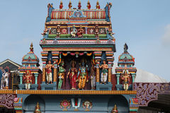 Escultura, arquitetura e símbolos do Hinduísmo e do budismo Fotografia de Stock Royalty Free