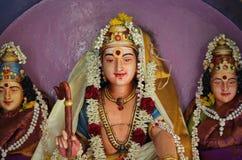 Escultura, arquitetura e símbolos do Hinduísmo e do budismo Imagens de Stock Royalty Free