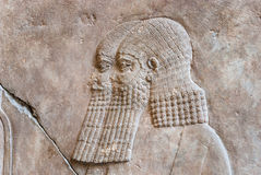 Escultura Babylonian, museu de Pergamon, Berlim Fotografia de Stock
