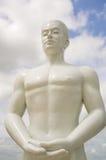 Escultura blanca del ángulo, Korat, Tailandia Fotos de archivo libres de regalías