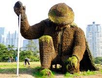 Escultura botânica Foto de Stock
