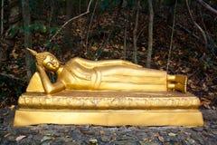 Escultura budista - realizar nirvana Fotografía de archivo libre de regalías