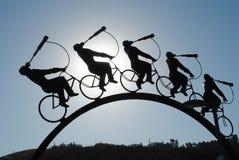 Escultura a busca Imagens de Stock Royalty Free