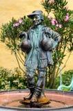 Escultura, castelo Hohenschwangau Imagem de Stock Royalty Free