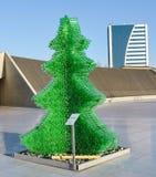 Escultura cerca de Heydar Aliyev Center Foto de archivo libre de regalías