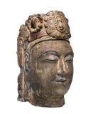 Escultura china antigua aislada. foto de archivo