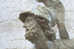 Escultura clásica con texturas Imágenes de archivo libres de regalías