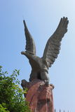 Escultura da águia Foto de Stock
