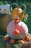 Escultura da abóbora Imagens de Stock Royalty Free