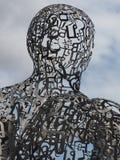 Escultura 2017 da alma de Banguecoque pela representação de Jaume Plensa do artista fotos de stock royalty free