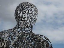 Escultura 2017 da alma de Banguecoque pela representação de Jaume Plensa do artista imagens de stock royalty free