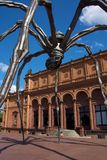 Escultura da aranha de Hamburgo Kunsthalle Foto de Stock Royalty Free