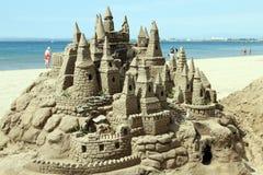 Escultura da areia foto de stock