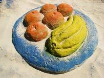 Escultura da areia de artista desconhecido Imagem de Stock