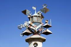 Escultura da arte da torre do farol, Swansea, Gales do Sul, Reino Unido Foto de Stock