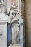 Escultura da basílica de St Peter, Vaticano, Itália foto de stock royalty free