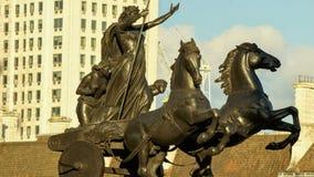 Escultura da biga de Boadicea imagens de stock royalty free