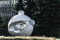Escultura da bola Foto de Stock Royalty Free