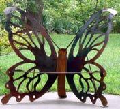 Escultura da borboleta Imagens de Stock