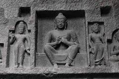 Escultura da Buda imagens de stock