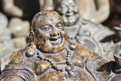 Escultura da Buda indicada no mercado de Panjiayuan, Pequim, China Foto de Stock Royalty Free