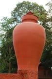Escultura da cerâmica de Larg Foto de Stock Royalty Free