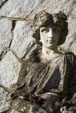 Escultura da deusa do jardim Imagem de Stock Royalty Free