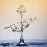 Escultura 14 da gota Imagem de Stock Royalty Free