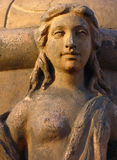 Escultura da mulher fotografia de stock royalty free